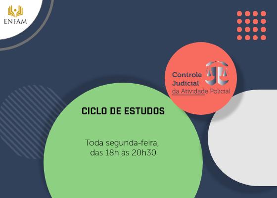 Foto de Capa do Ciclo de Estudos, Toda segunda-feira das 18 às 20:30 horas