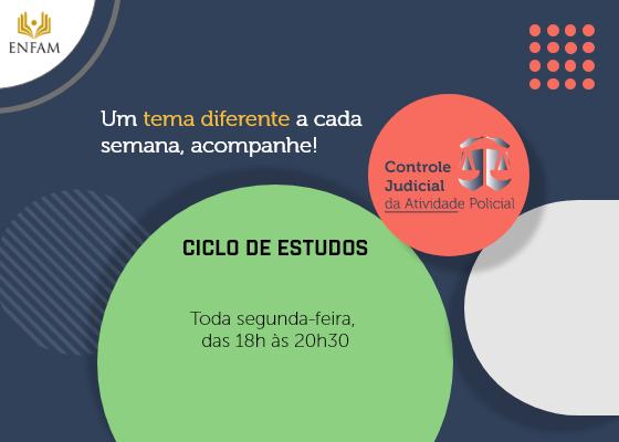 Foto de Capa do Ciclo de Estudos, Toda segunda-feira das 18 às 20:30 horas - Versão 2